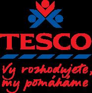 Logo TESCO Vy rozhodujete, my pomáháme