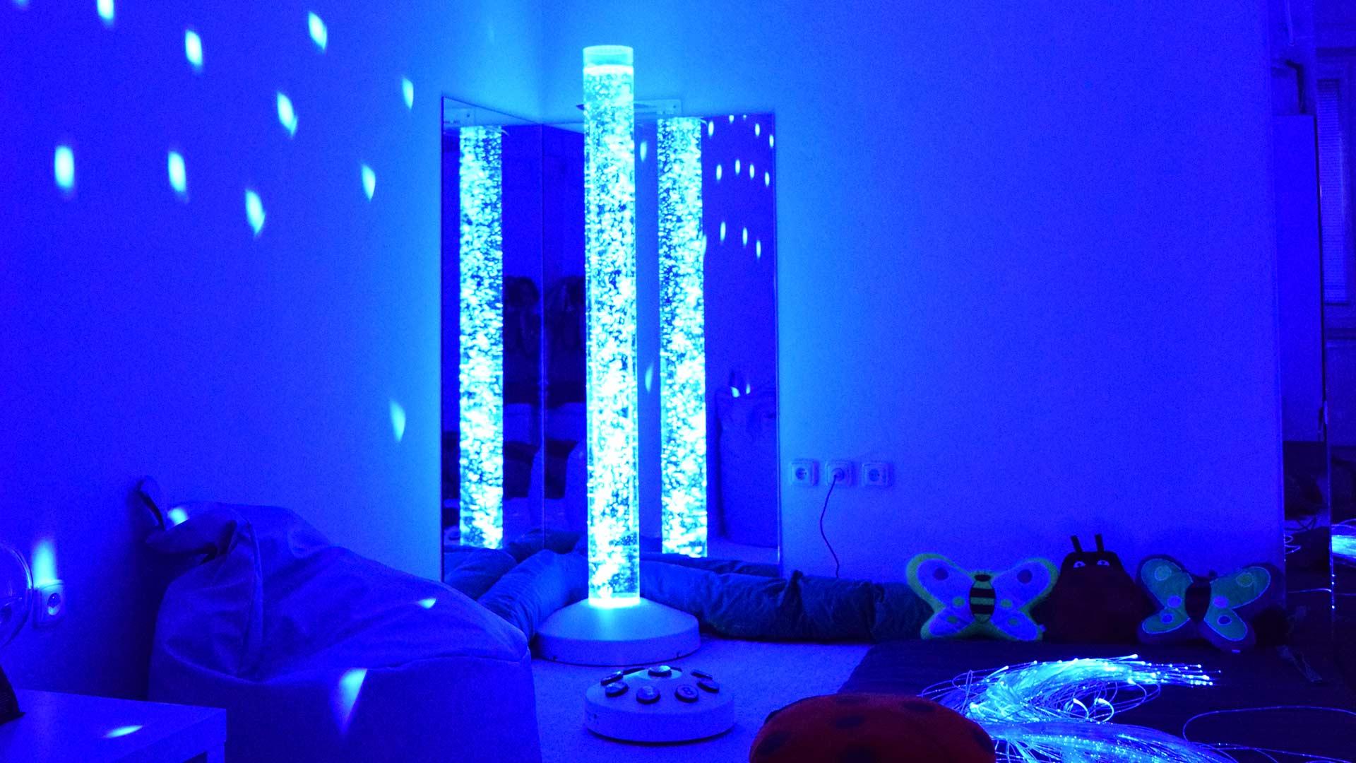 Relaxační místnost snoezelen Slezská diakonie – úsek Brno