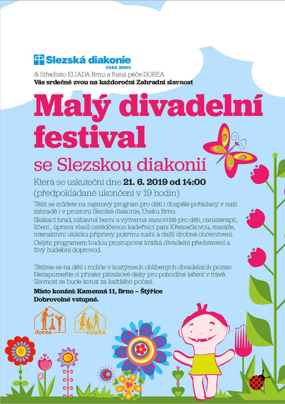 Malý divadelní festival se Slezskou diakonií plakát