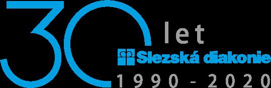 logo slzeské diakonie k výročí 30 let