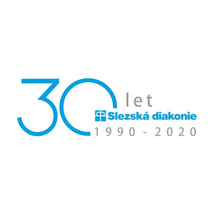 slezska diakonie logo k výročí 30 let